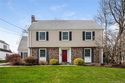West Hartford Single Family Home For Sale: 125 Ridgewood Road