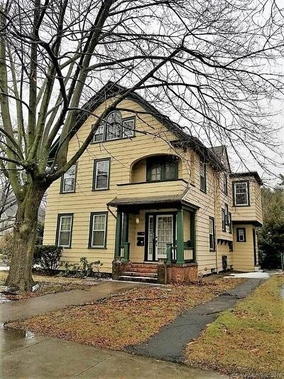 E Haven, New Haven, W Haven Multi Family Home For Sale: 739 Whitney Avenue
