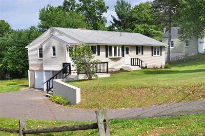 Suffield Single Family Home For Sale: 450 Hale Street