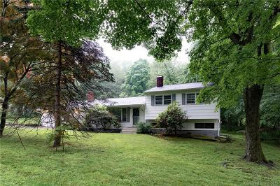Ridgefield Single Family Home For Sale: 294 Old Stagecoach Road
