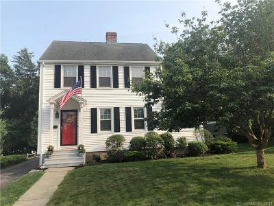 Wethersfield Single Family Home For Sale: 23 Hillcrest Avenue