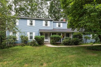 Cheshire Single Family Home For Sale: 584 Woodpond Road