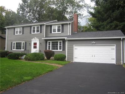 West Hartford Single Family Home For Sale: 69 Vardon Road