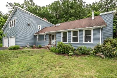 Tolland County, Windham County Single Family Home For Sale: 44 Indian Trail