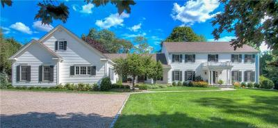RIDGEFIELD Single Family Home For Sale: 190 Nod Road