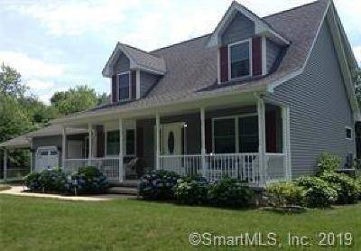 Enfield Single Family Home For Sale: 52 Steele Road