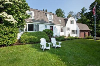 Simsbury Single Family Home For Sale: 213 Bushy Hill Road