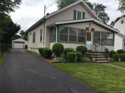 Wethersfield Single Family Home For Sale: 311 Nott Street