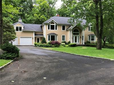 Ridgefield Single Family Home For Sale: 52 Silver Spring Road