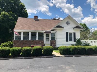 Tolland County, Windham County Single Family Home For Sale: 750 Norwich Road