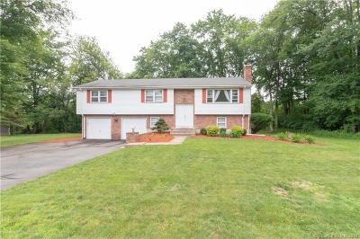 South Windsor Single Family Home For Sale: 210 Carriage Drive