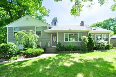 Simsbury Single Family Home For Sale: 210 Bushy Hill Road