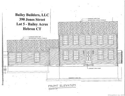Hebron Single Family Home For Sale: 370 Jones Street