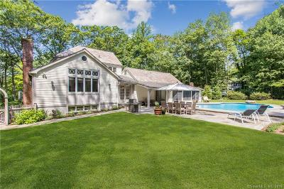Wilton Single Family Home For Sale: 107 New Canaan Road