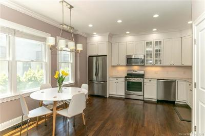 Stamford Condo/Townhouse For Sale: 48 Pleasant Street #1