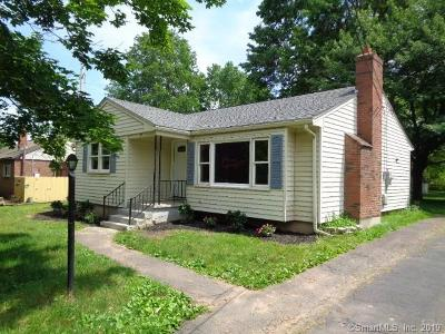 Rocky Hill Single Family Home For Sale: 29 Fern Street