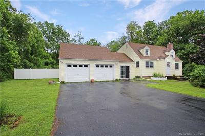 Ellington Single Family Home For Sale: 47 Crane Road