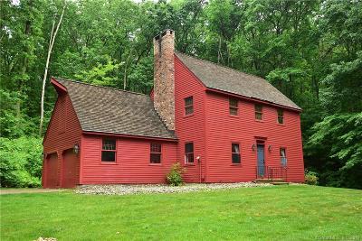 Ellington Single Family Home For Sale: 27 Snipsic Lake Road