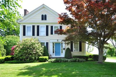 Suffield Single Family Home For Sale: 572 North Main Street
