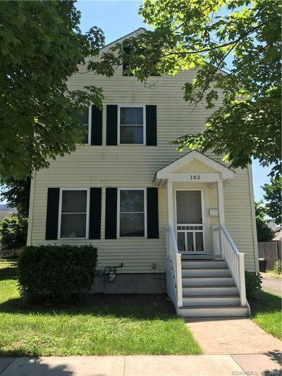 Hamden Single Family Home For Sale: 102 School Street