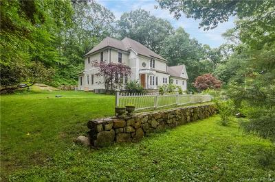 Wilton Single Family Home For Sale: 225 New Canaan Road