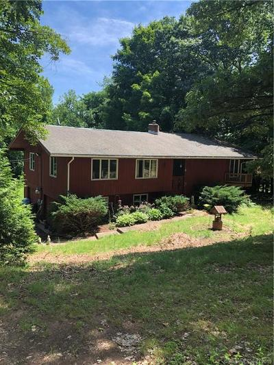 Suffield Single Family Home For Sale: 1640 Hill Street