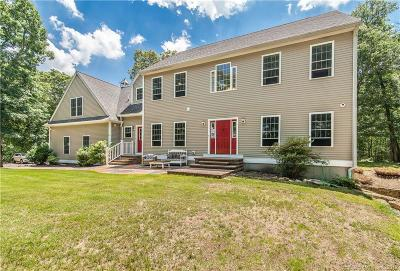 Ledyard Single Family Home For Sale: 15 Tuckers Run