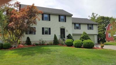 Wethersfield Single Family Home For Sale: 178 Hang Dog Lane
