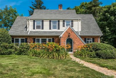 West Hartford Single Family Home For Sale: 590 Park Road