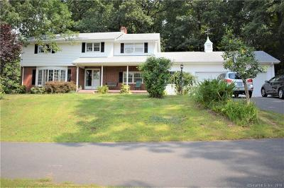 South Windsor Single Family Home For Sale: 230 Kelly Road