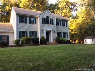 Ellington Single Family Home For Sale: 89 Muddy Brook Road