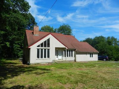 Wethersfield Single Family Home For Sale: 312 Back Lane