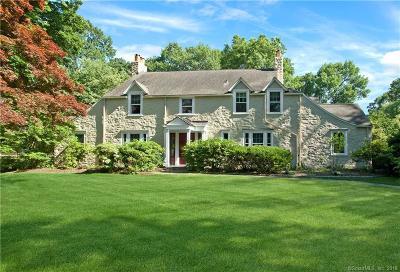 Darien Single Family Home For Sale: 58 Locust Hill Road