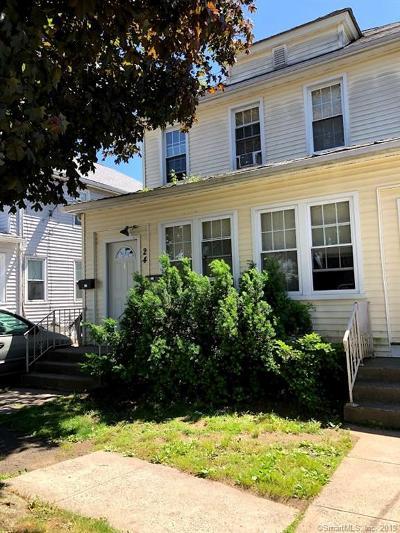 Hamden Multi Family Home For Sale: 24 Bradley Avenue