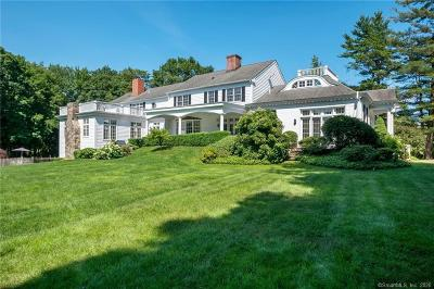 New Canaan Single Family Home For Sale: 125 West Road