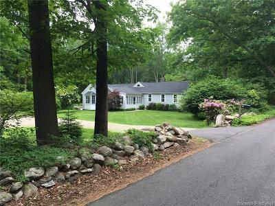 Weston Single Family Home For Sale: 41 Fanton Hill Road