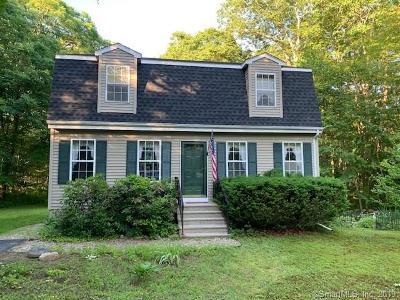 Stonington Single Family Home For Sale: 17 Sherwood Drive