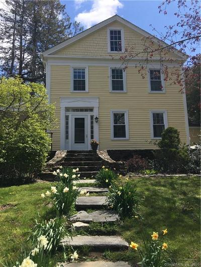 Bolton Single Family Home For Sale: 111 Tolland Road