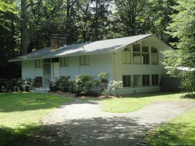 New Canaan Single Family Home For Sale: 1160 Smith Ridge Road