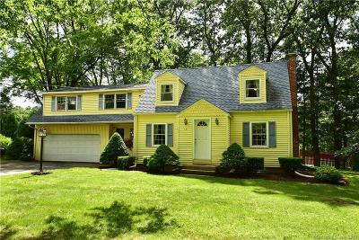 Suffield Single Family Home For Sale: 131 Babbs Road