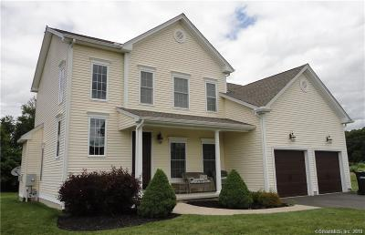 East Windsor Single Family Home For Sale: Lot 2 Reservoir Road