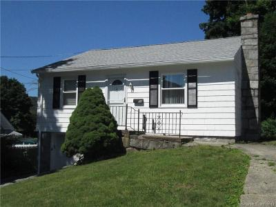 Naugatuck Single Family Home For Sale: 22 Dunn Avenue