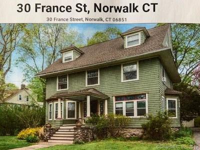 Norwalk Single Family Home For Sale: 30 France Street