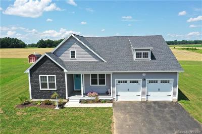 Suffield Single Family Home For Sale: 3 Kings Court #Lot 3