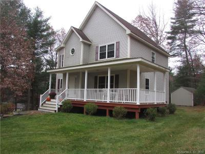 Stafford Single Family Home For Sale: 15 Mountain Road