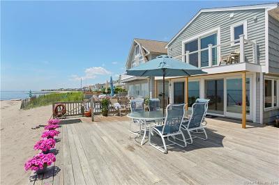 Fairfield Single Family Home For Sale: 1037 Fairfield Beach Road