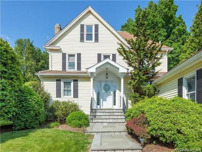 Darien Single Family Home For Sale: 87 Holmes Avenue