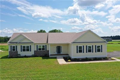 Suffield Single Family Home For Sale: 6 Kings Court #Lot 6
