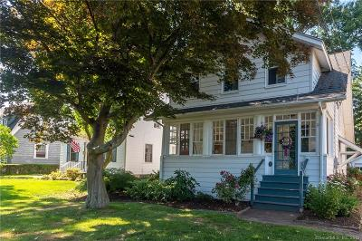 West Hartford Single Family Home For Sale: 1576 Boulevard