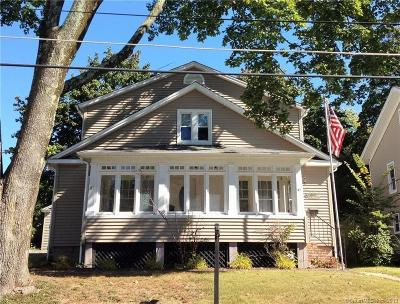 Danbury Single Family Home For Sale: 87 Garfield Avenue